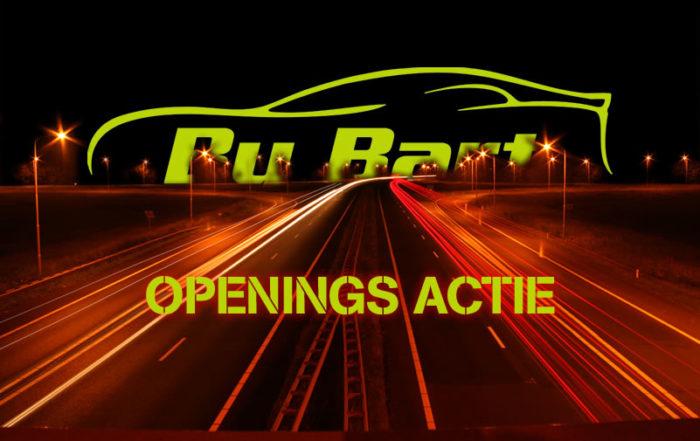 Rijschool By Bart - Openingsactie